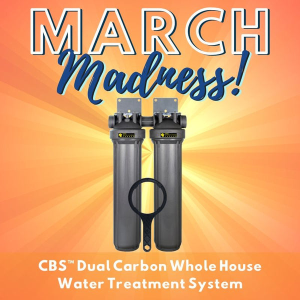 RKIN Dual Carbon Whole House Water Treatment System March Madness Giveaway