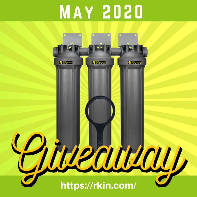 RKIN Salt-Free Water Softener with Dual Carbon Filtration Giveaway