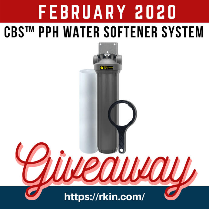 CBS™ PPH Salt-Free Whole House Water Softener System Giveaway