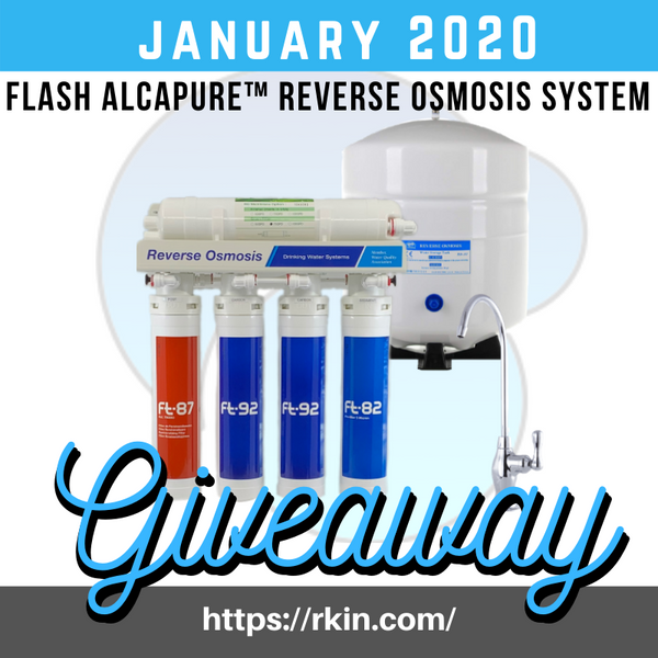 Flash AlcaPure™ Reverse Osmosis System New Year, New You Giveaway