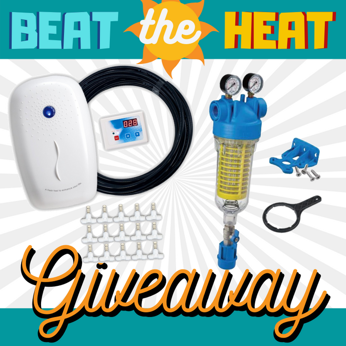 RKIN Smart Misting System + Sediment Water Filter Summer Giveaway