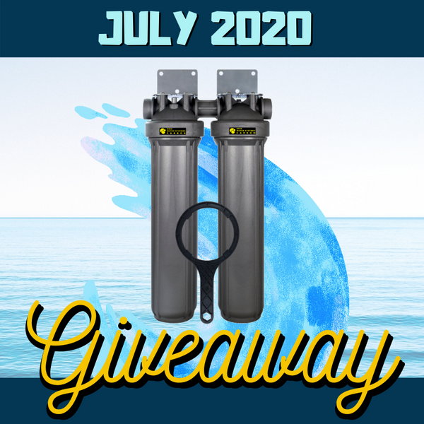 RKIN OnliSoft Salt-Free Water Softener with Zee-Pro Prefilter Giveaway