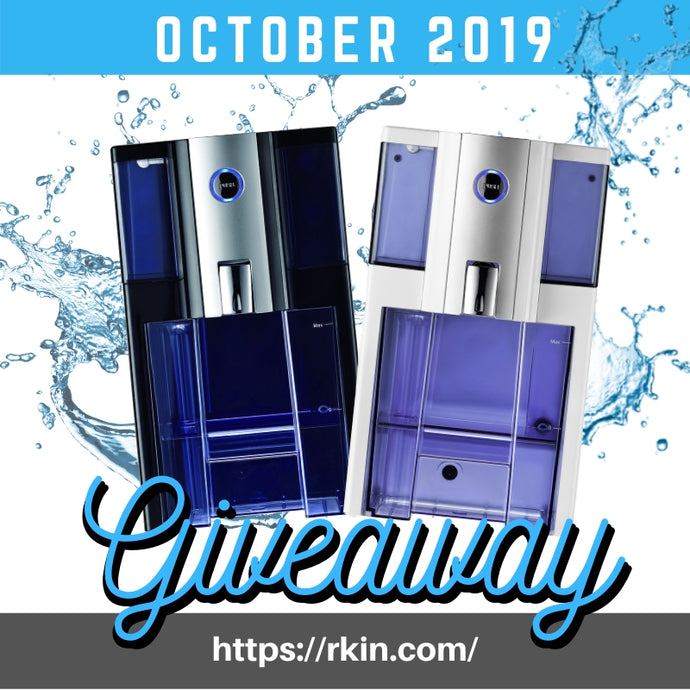 AlcaPure™ Zero Installation Purifier RKIN Giveaway October 2019