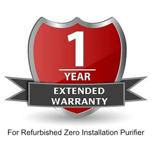 1 Year Extended Warranty For Refurbished Zero Installation Purifier
