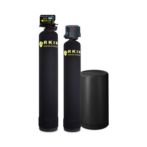 Salt Based Water Softener and Well Water Filter Combo