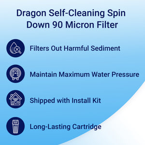spindown sediment filter