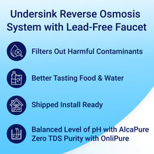 Load image into Gallery viewer, Undersink Reverse Osmosis System by RKIN