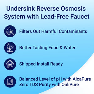 Undersink Reverse Osmosis System by RKIN