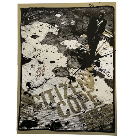 Danny Clinch x Citizen Cope 2011 Poster