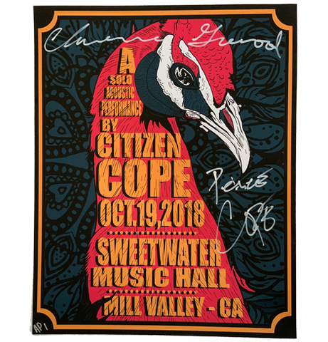 Sweetwater Music Hall Mill Valley, CA 10/19/2018 (Signed & AP Edition)