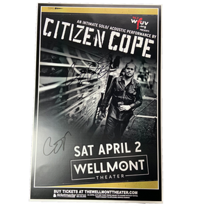 Wellmont Theater Montclair, NJ on 4/2/2016 Poster