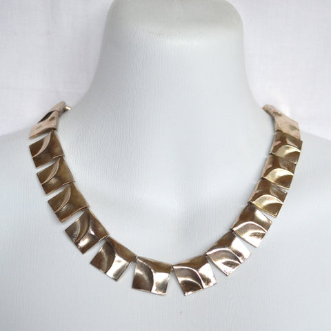 Modernist Silver Lapponia Necklace