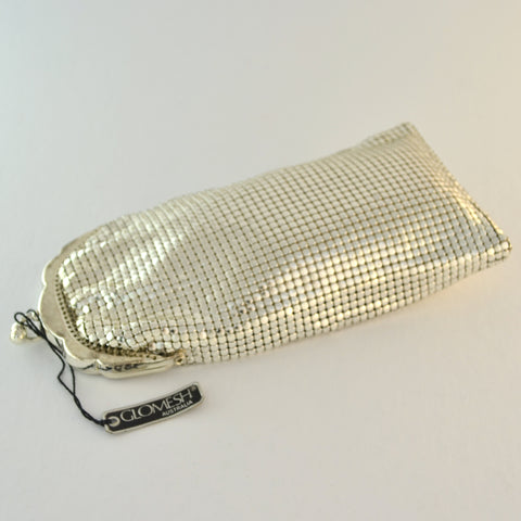 Silver Glomesh Glasses Pouch
