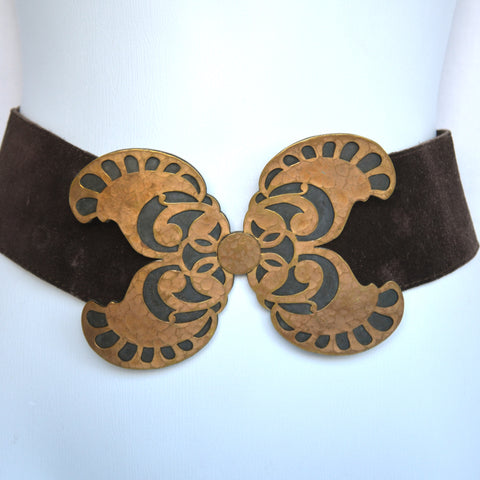 Yves Saint Laurent 70s Butterfly Belt