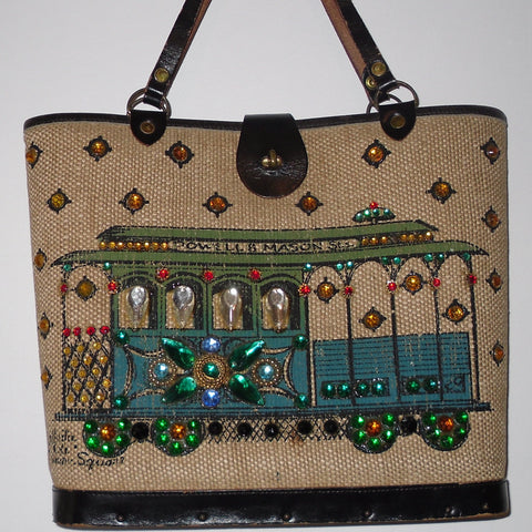 Enid Collins Jewelled Handbag
