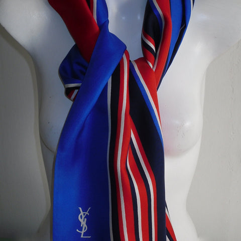 Yves Saint Laurent Vintage Silk Scarf