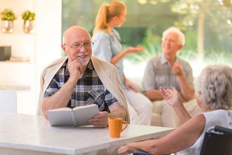 aged care residents socialising