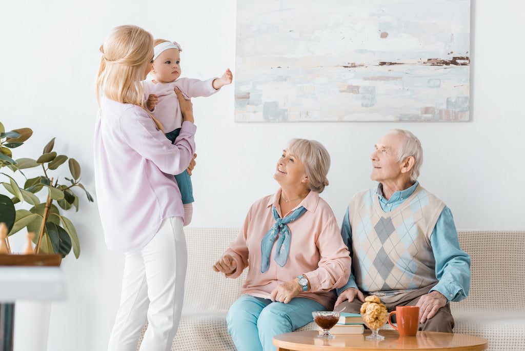 elderly people in Brisbane aged care facility