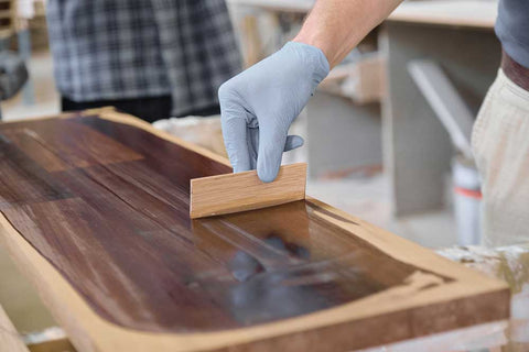 timber stain colour