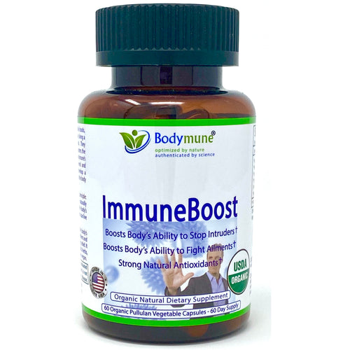 Immune Booster Immune Support Brings General Improved Health – Vegan USDA Organic Synergistic Blend Adaptogen Improves Immune System - More to Body's Natural Healing Power - 2 Month Supply