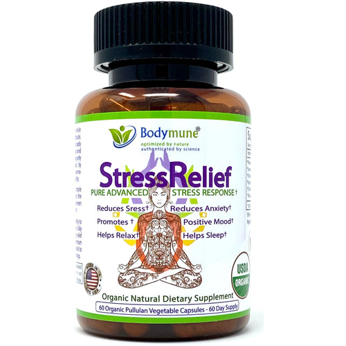StressRelief Natural Stress Relief Supplement | Bodymune