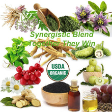 synergistic blend, natural stress relief, anxiety relief