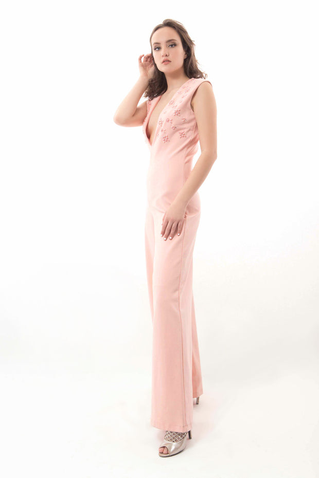 Baby Pink Jumpsuit