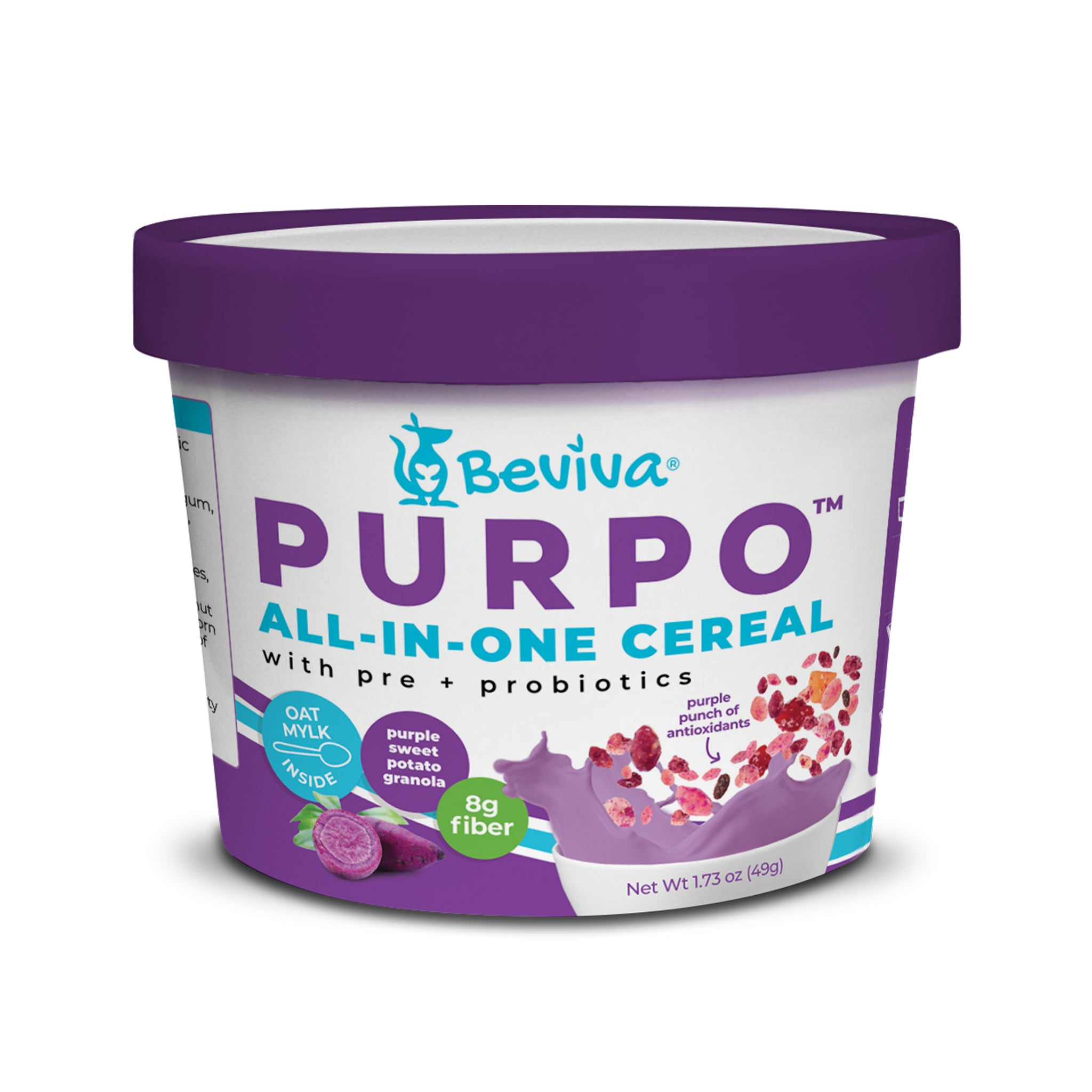 PURPO All-in-One Cereal Cup 1.73 oz - Beviva Foods