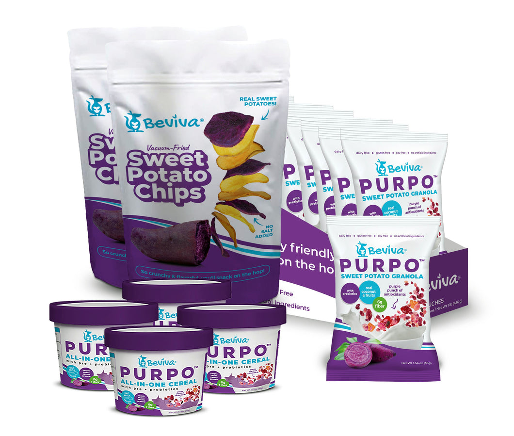Hopper Sweet Potato Snack Pack - Beviva Foods