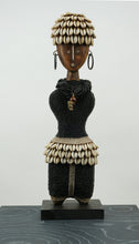 Namji doll black, rope, bead & shells