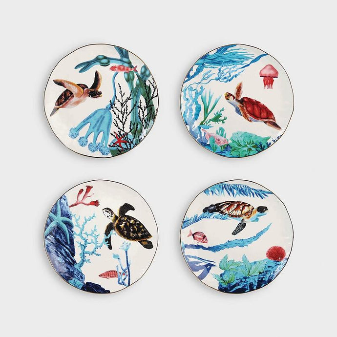 &klevering plate ocean set of 4 - BB InteriorBB Interior