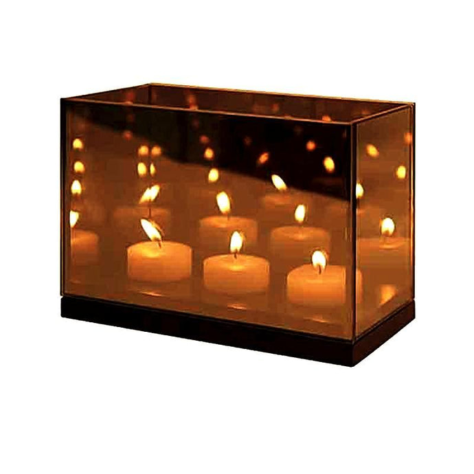 &Klevering Reflection 3 Triple Infinity Light - BB Interior&KleveringCandle Holder