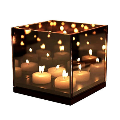 &Klevering Reflection 4 Quartet Infinity Light - BB Interior&KleveringCandle Holder