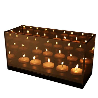 &Klevering Reflection 5 Cinq Infinity Light - BB Interior&KleveringCandle Holder