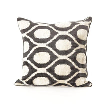 BB Interior Handmade Cushion Velvet Black Mix