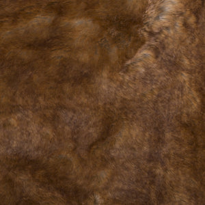 Dôme Deco Plaid Fur Rust