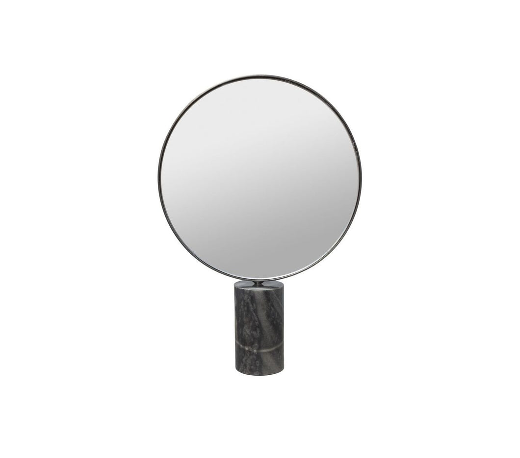 Mirror on Marble Stand Round - BB InteriorDôme DecoMirror