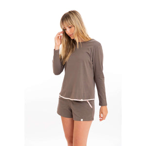 Open image in slideshow, Leena & Lu:The Pima Short,S / Dusk,SHORTS
