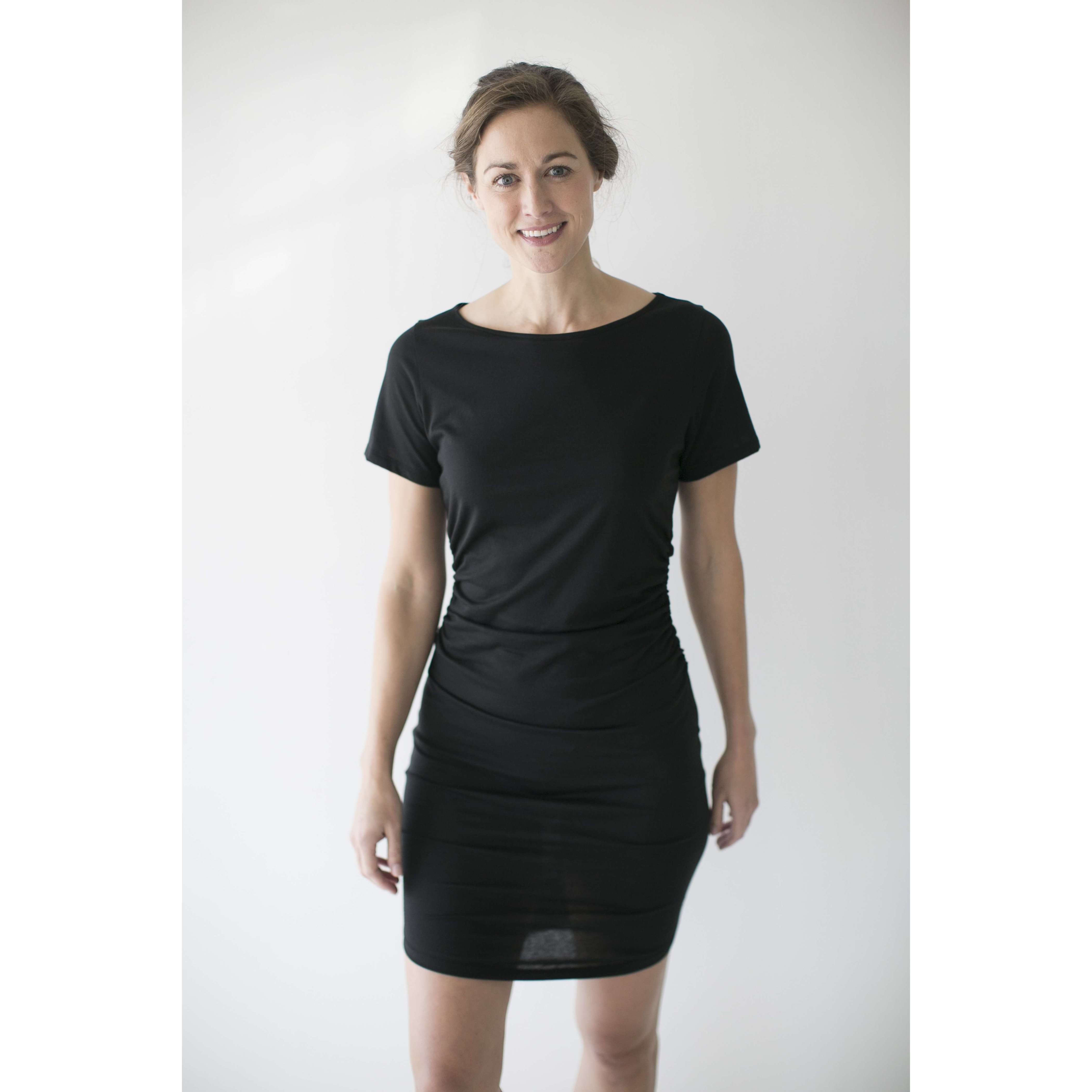 Leena & Lu:The Zaña dress,M / BLACK,