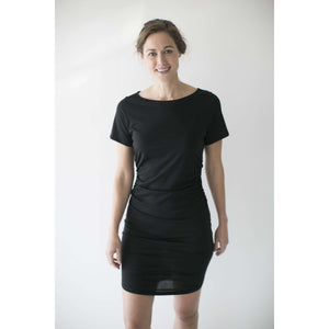 Open image in slideshow, Leena & Lu:The Zaña dress,M / BLACK,