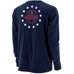 BETSY ROSS SNAPPER LONG SLEEVE TEE