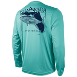ISLA YELLOWFIN SUBMARINE LONG SLEEVE PERFORMANCE TEE