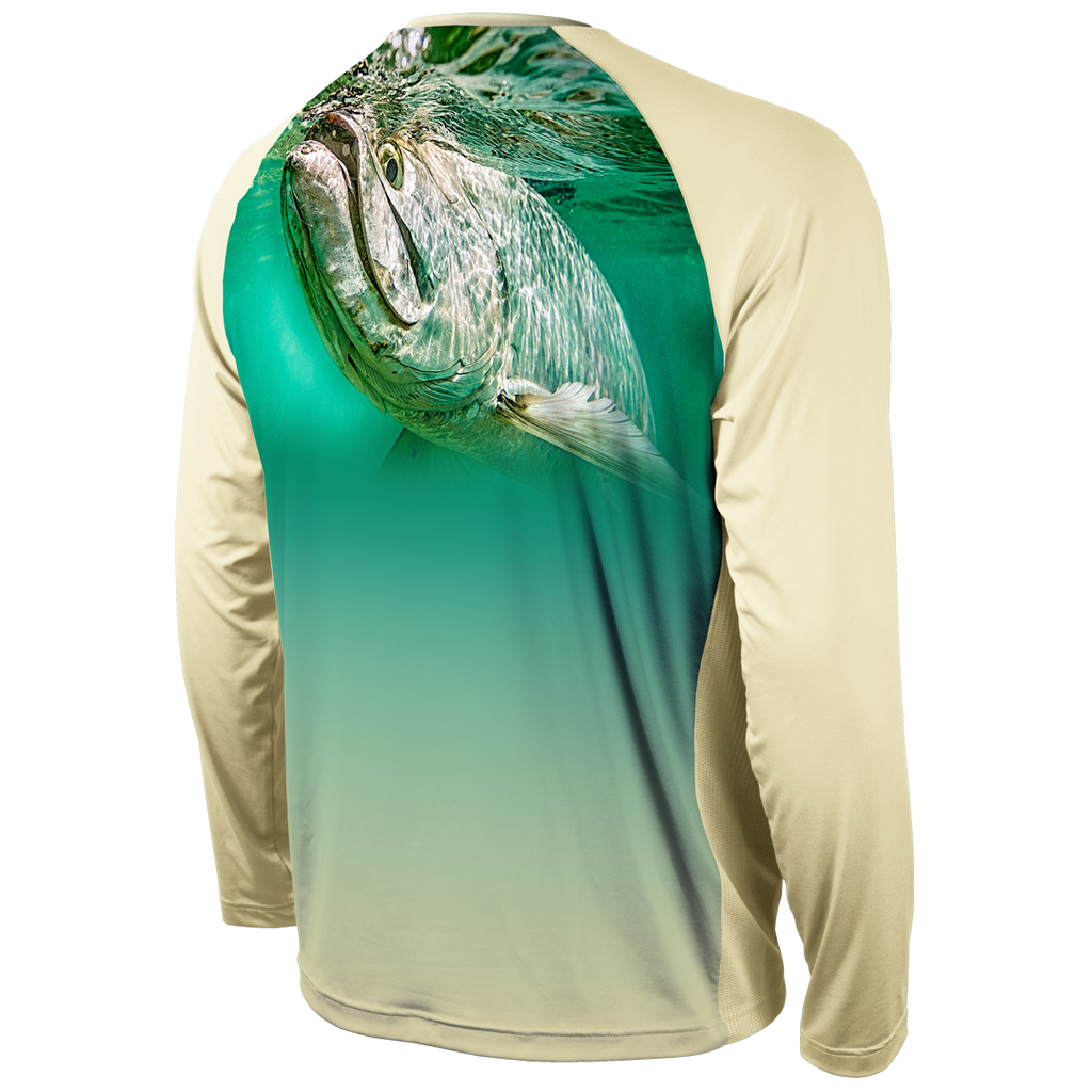GULP! TARPON LONG SLEEVE PERFORMANCE RAGLAN