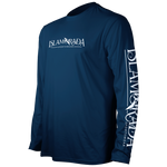 LIVE LIKE A LEGEND INSET LONG SLEEVE PERFORMANCE MESH BACK