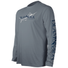 SAILS CALL INSET LONG SLEEVE PERFORMANCE MESH BACK