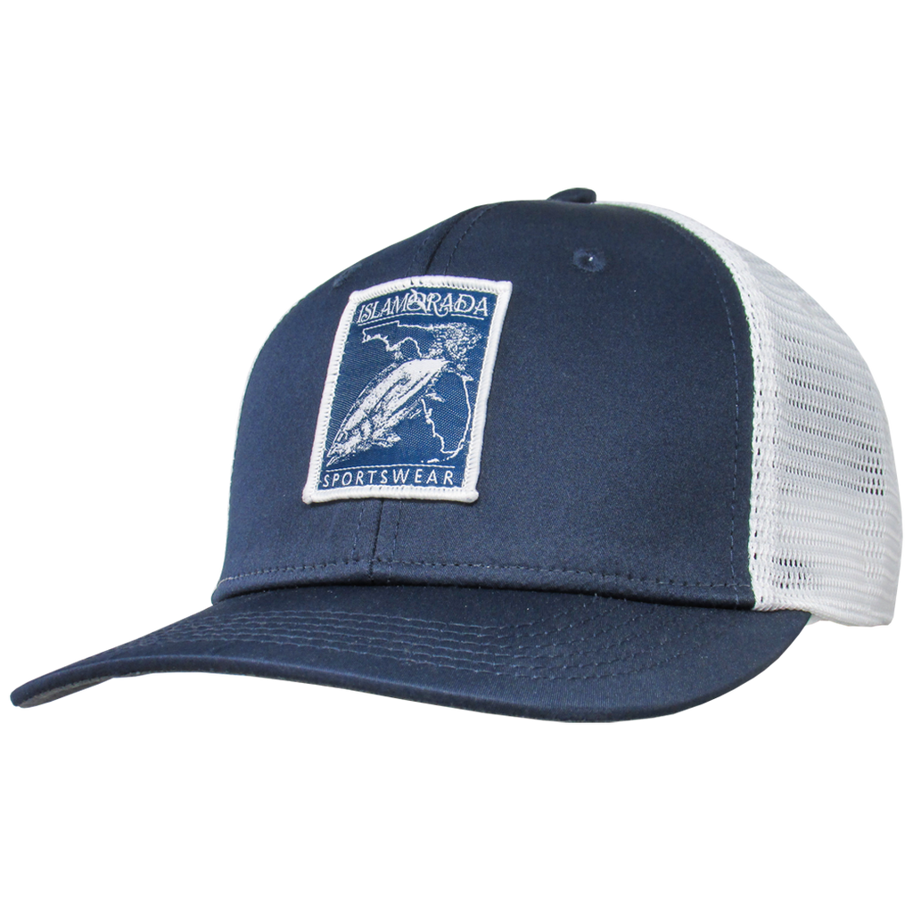 ISLA BLACKFIN TUNA PATCH MIDPRO TRUCKER