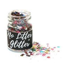 Load image into Gallery viewer, Biodegradable glitter in glass jar