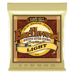 Ernie Ball 2004 11-52 Acoustic Earthwood Strings