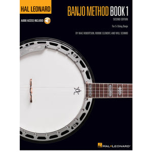 Hal Leonard Banjo Method – Book 1 – 2nd Edition