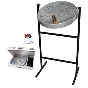 Jumbie Jam Steel Drum Kit - Tube Floor Stand (G)